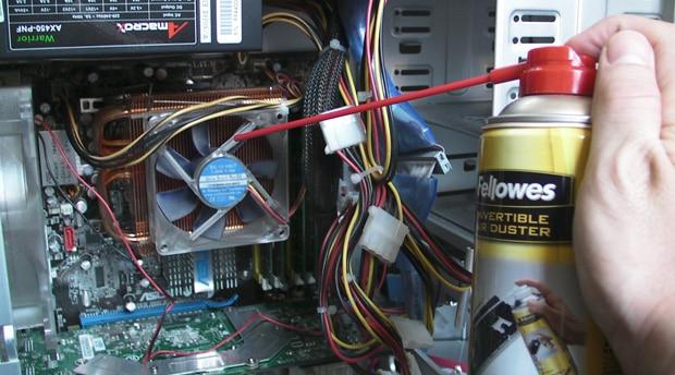 Ventilateurs et poussi re cours informatique gratuit xyoos for Interieur unite centrale