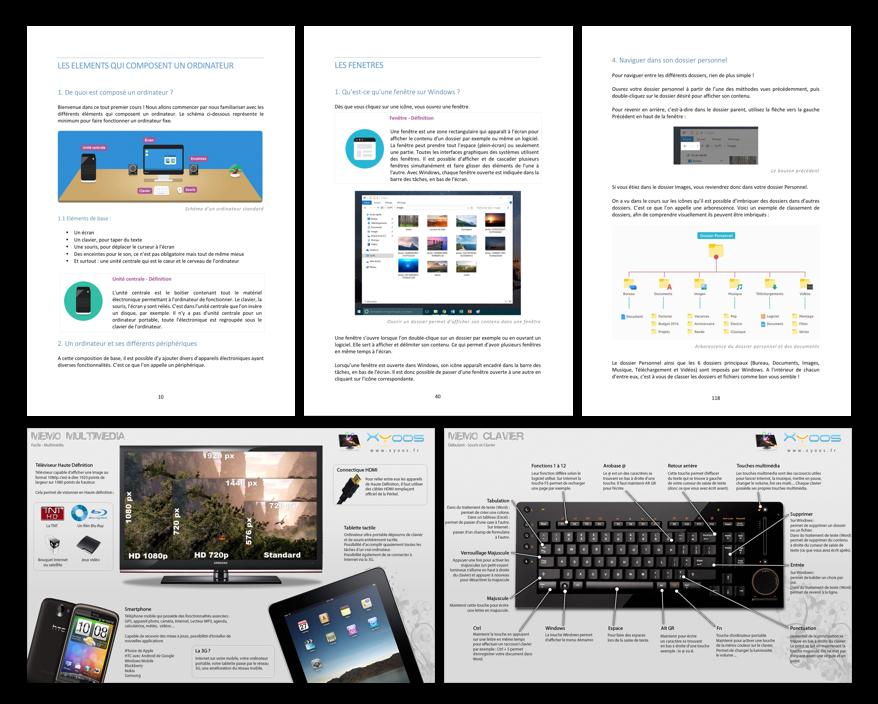 Quelques pages de l'ebook Xyoos