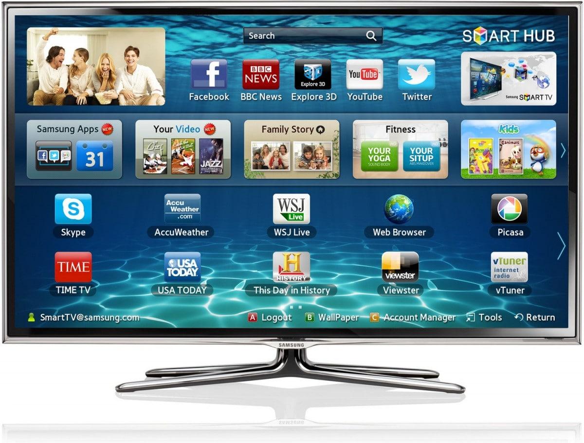 Téléviseur intelligent avec plein de fonctions multimédia