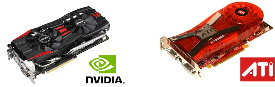 Cartes graphiques Nvidia ATI