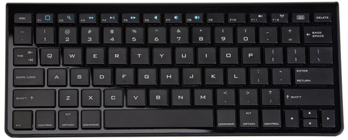 Un clavier standard