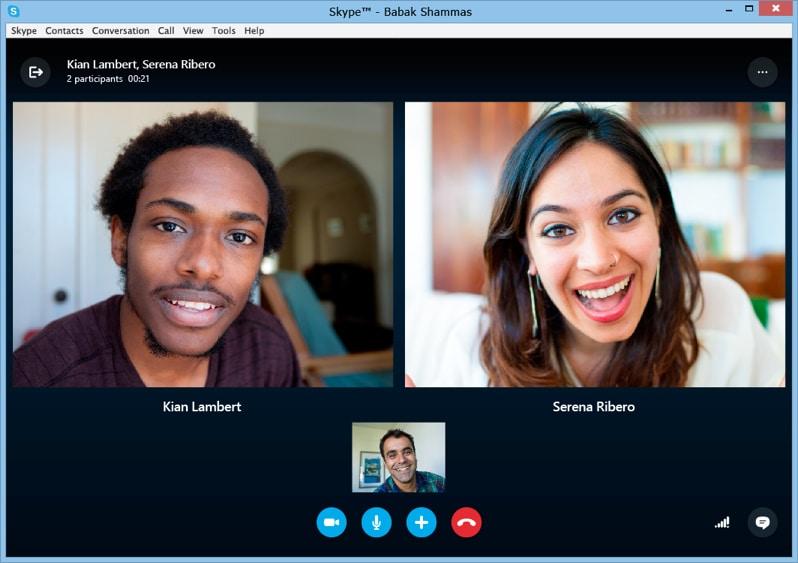 Communiquer en audio et vidéo avec Skype