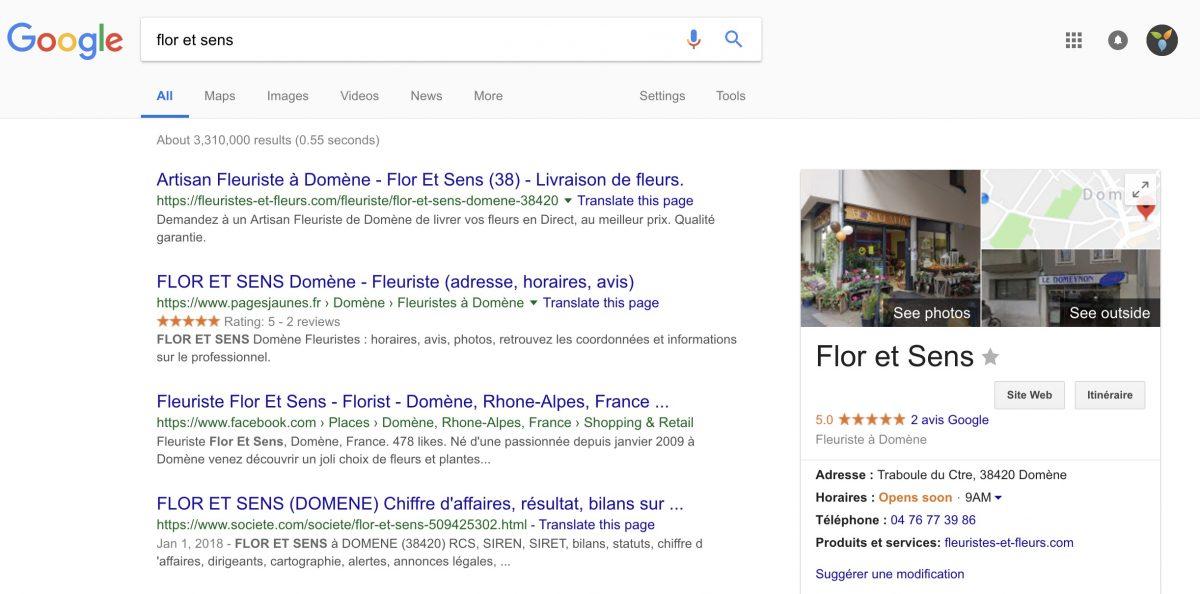 Trouvez toutes les informations d'une entreprise grâce à Google