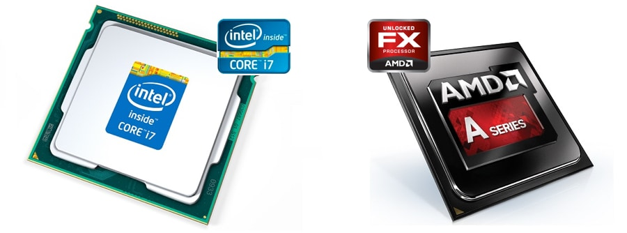 Intel et AMD sont les 2 principaux concurrents pour les processeurs