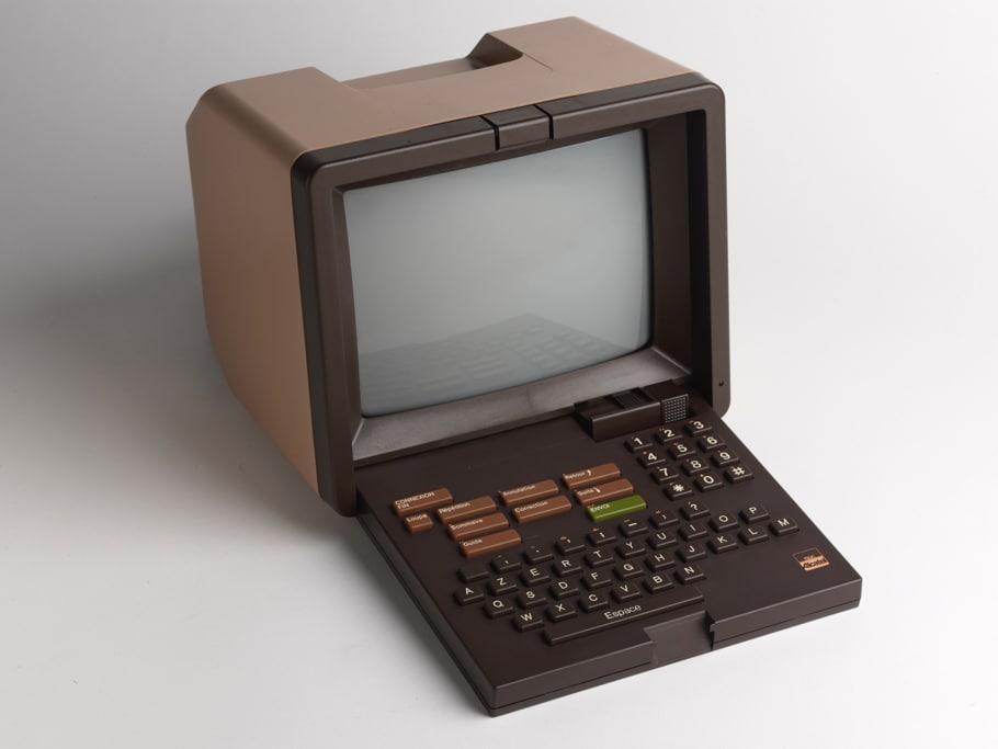 Le Minitel, ancêtre d'Internet