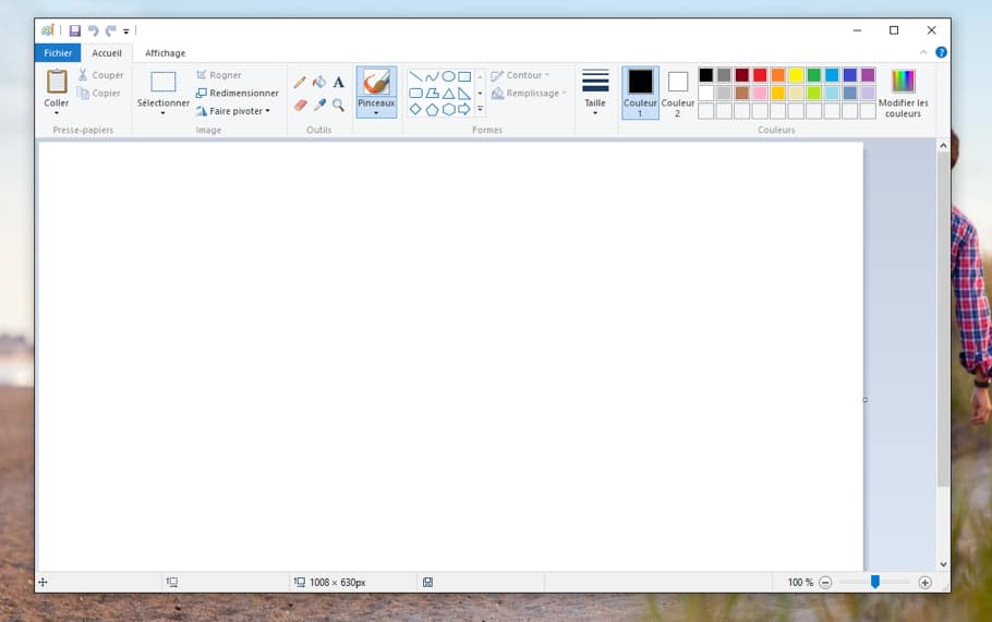 Le logiciel Paint