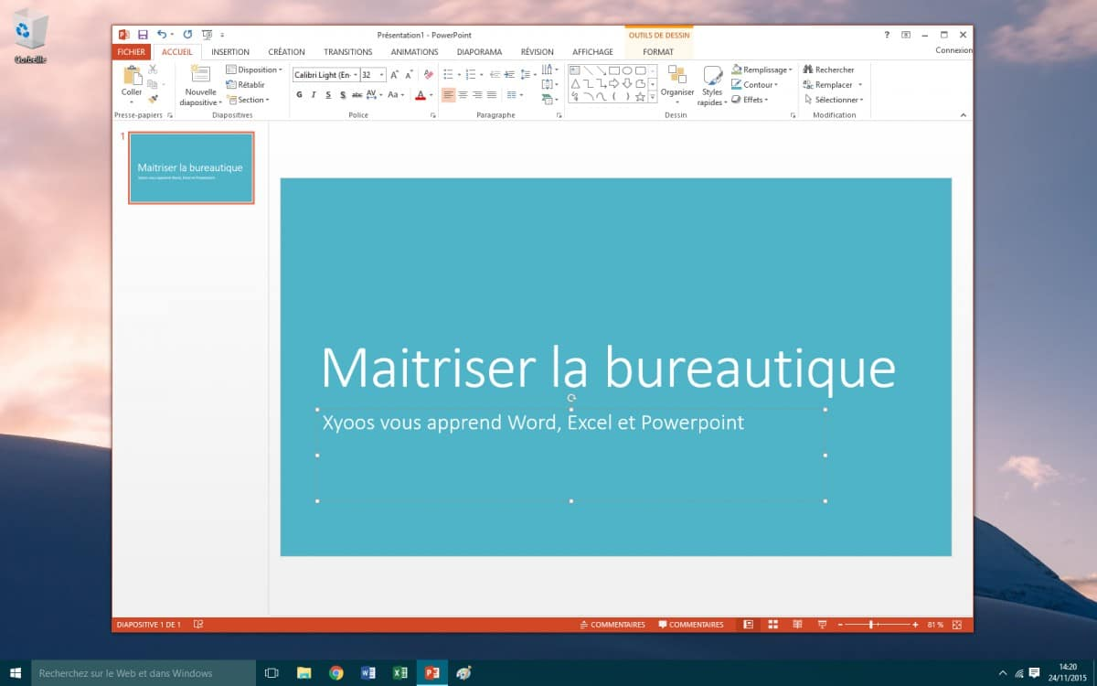 d u00e9finition office powerpoint  u2014 dictionnaire informatique