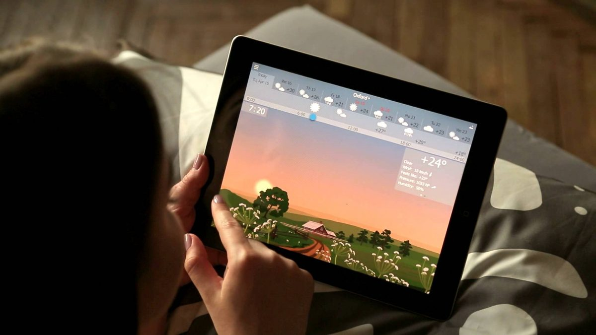 La tablette nous permet de consommer du contenu (jeux, films, informations)