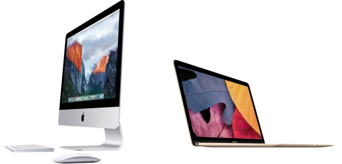 La gamme Mac d'Apple : l'iMac et le Macbook, portable ultra léger