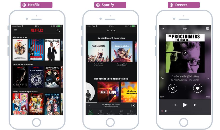 Les apps incontournables pour les films, séries et musiques sur iOS