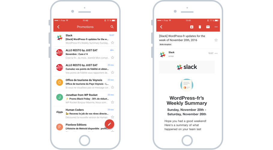 L'app Gmail officielle
