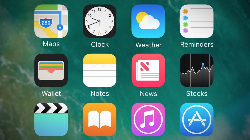 Des icônes d'apps de partout !