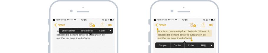 Sélectionner rapidement tout un texte