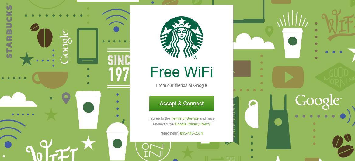 Connexion à un réseau Wi-Fi public