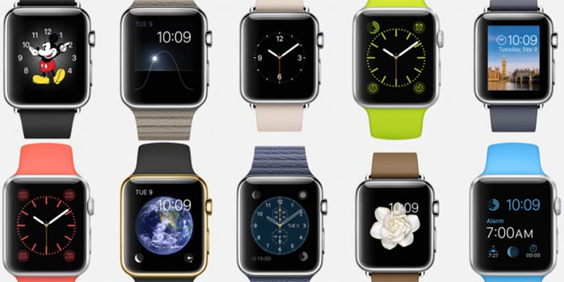 Il est possible de changer le bracelet de l'Apple Watch