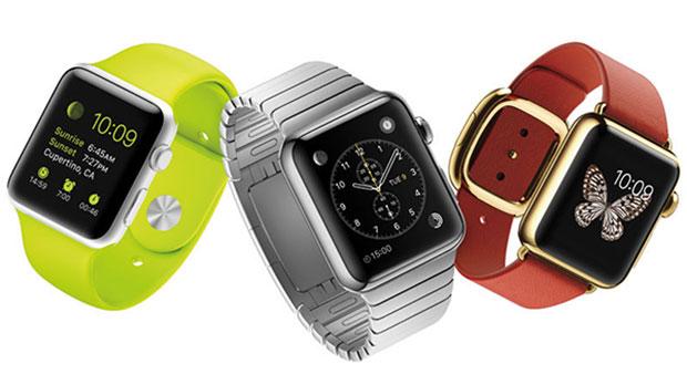 Différents bracelets de la Watch