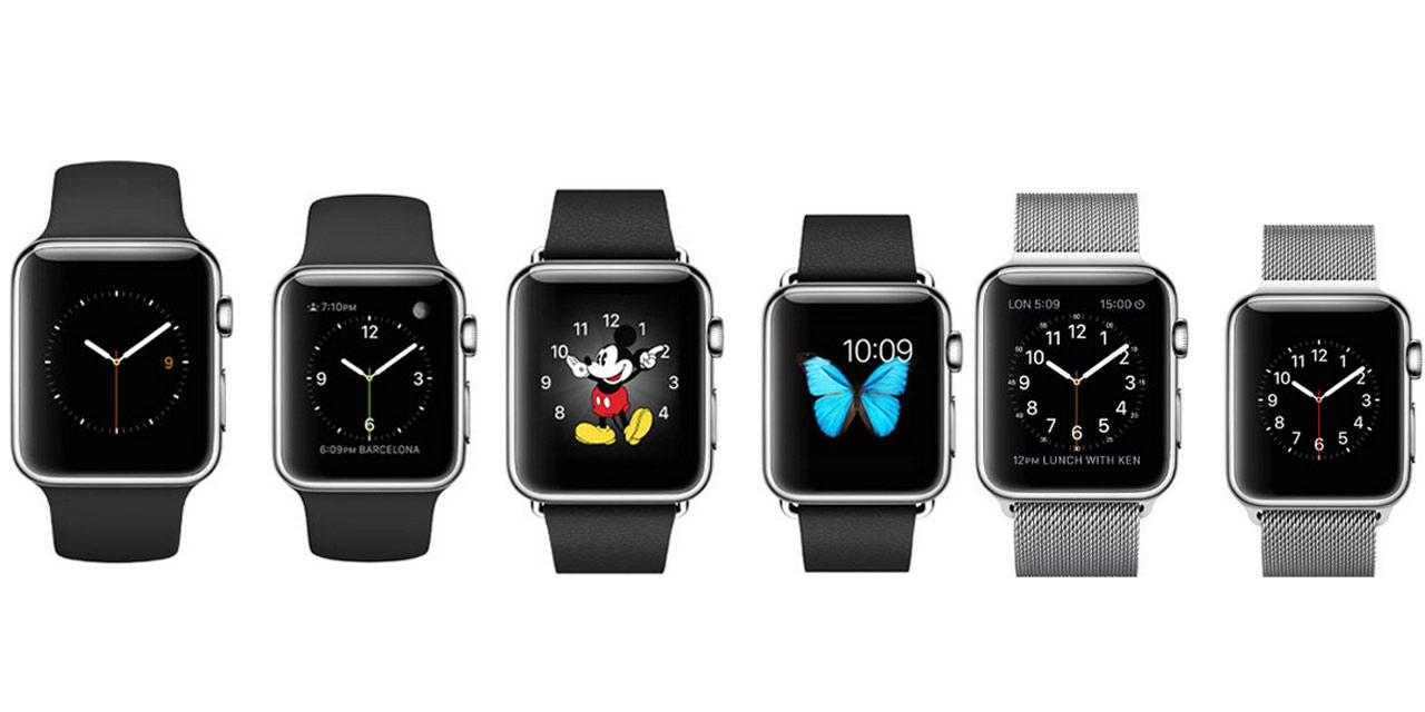 Le cadran de la Watch est également personnalisable