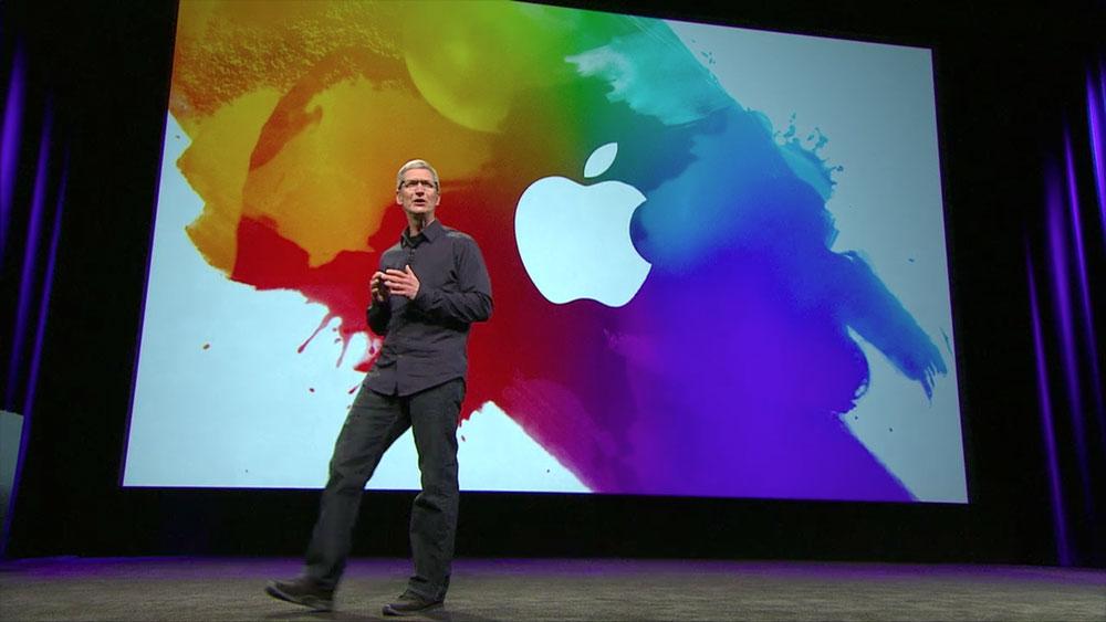 Tim Cook présente le nouvel iPhone