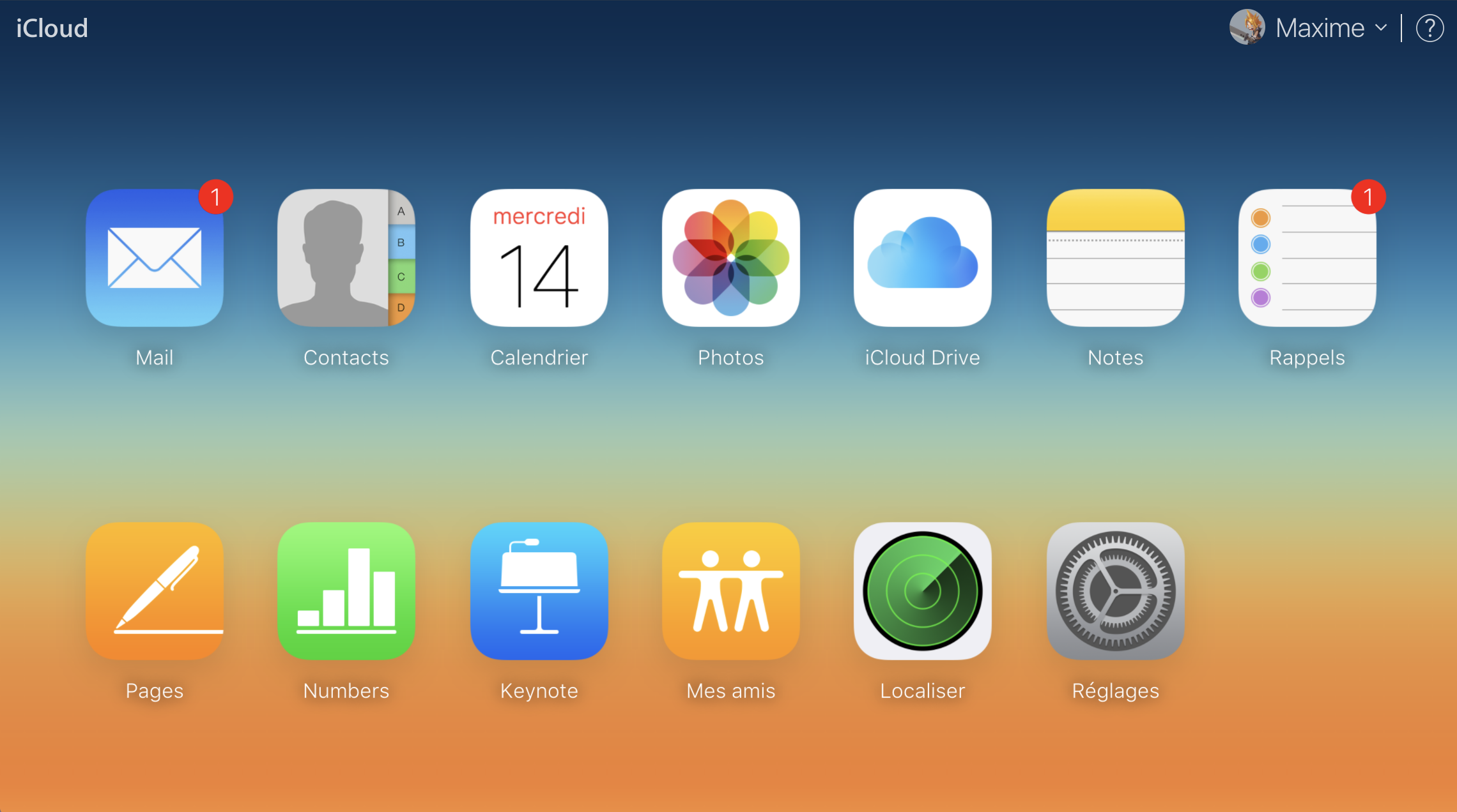 Accéder à iCloud depuis votre navigateur