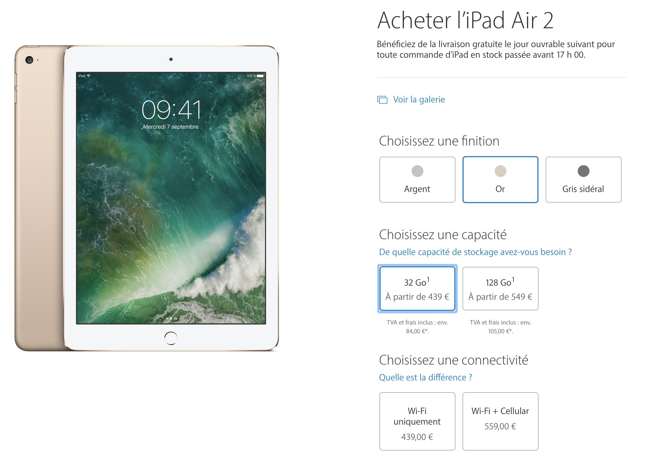 L'iPad cellulaire face à l'iPad Wi-Fi