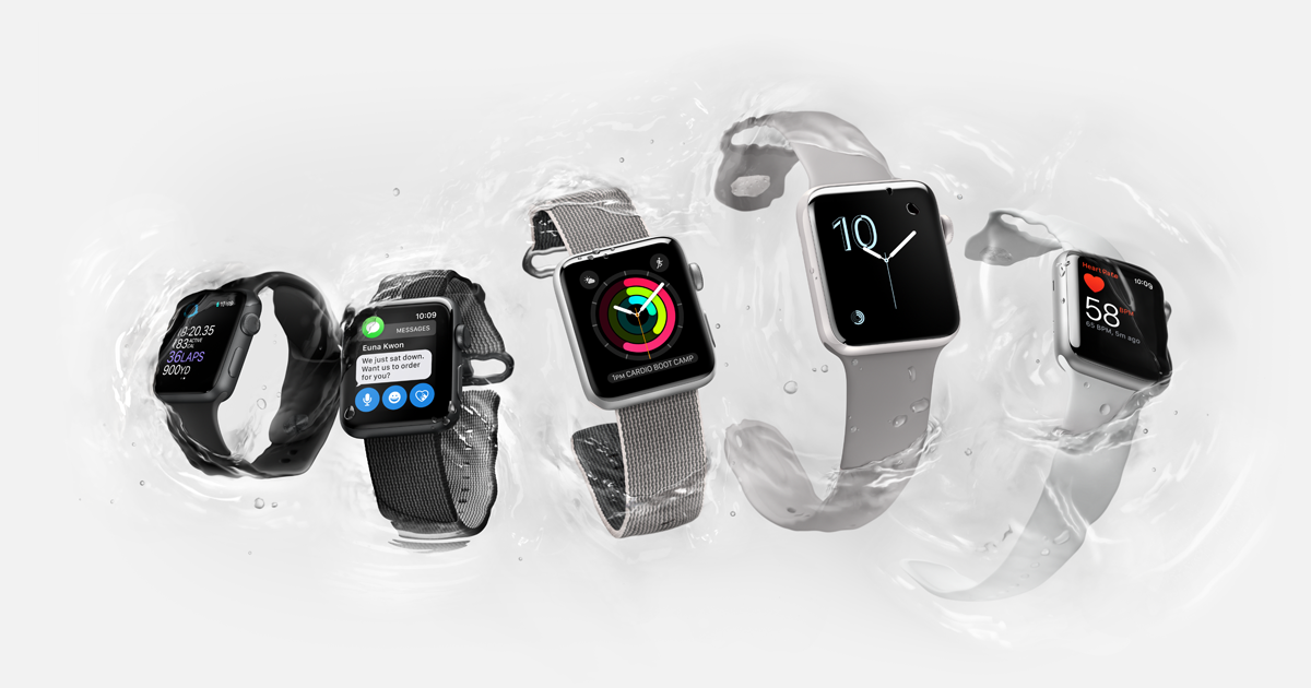 L'Apple Watch serie 2