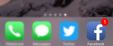 Pastille de notifications iOS