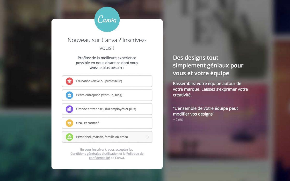 Cay Technology - Centre de Réparation Saint Quentin canva-creation-compte-1200x750 Retouchez vos photos gratuitement et simplement sur Internet avec Canva Non classé