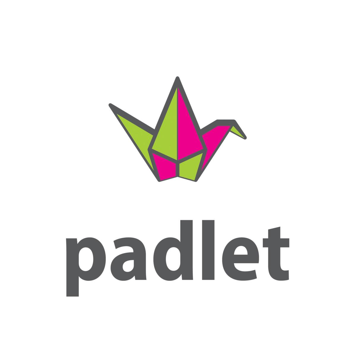 Le logo de Padlet, mur collaboratif en ligne