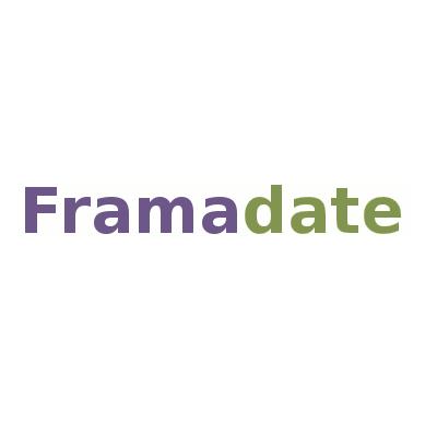 le logo de framadate est simple et épuré
