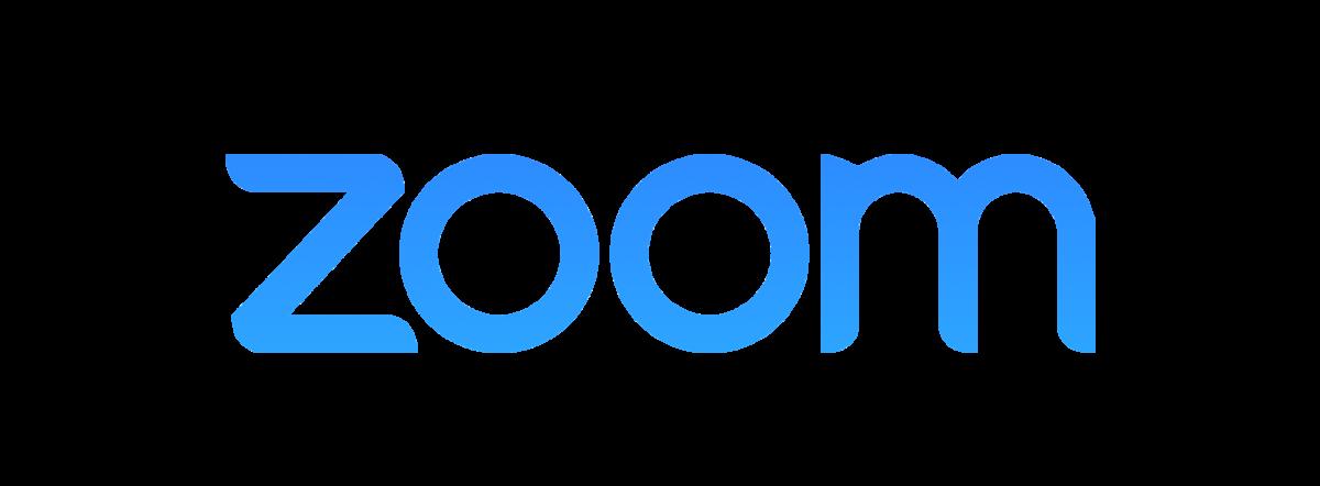 Le logo de Zoom, logiciel de visioconférence
