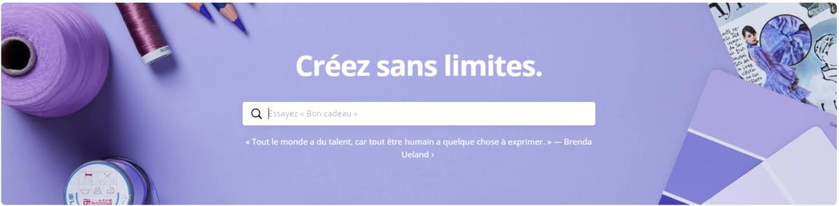Le bandeau d'accueil change à chaque nouvelle connexion sur le site