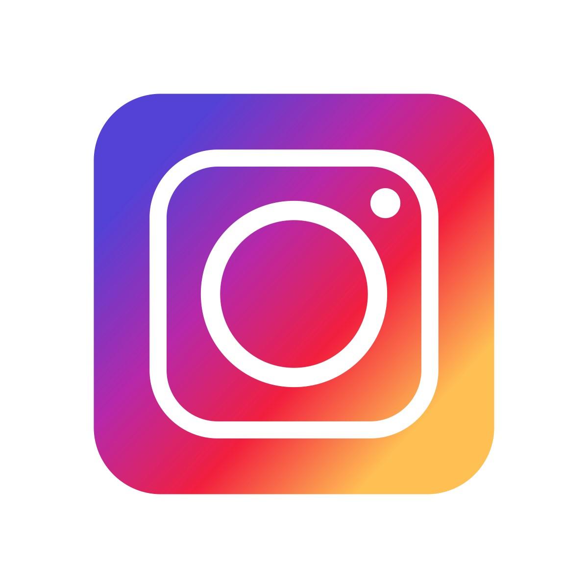 Le logo d'Instagram est très coloré