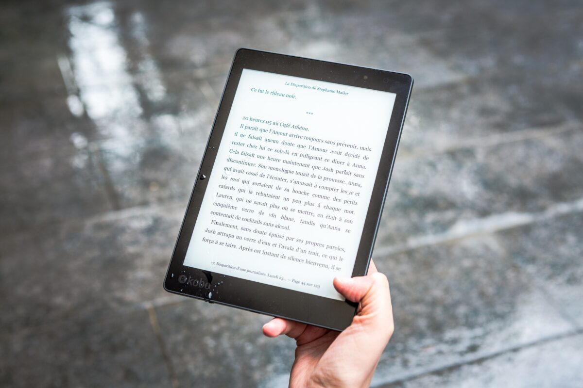 Les textes des e books sont souvent au format pdf