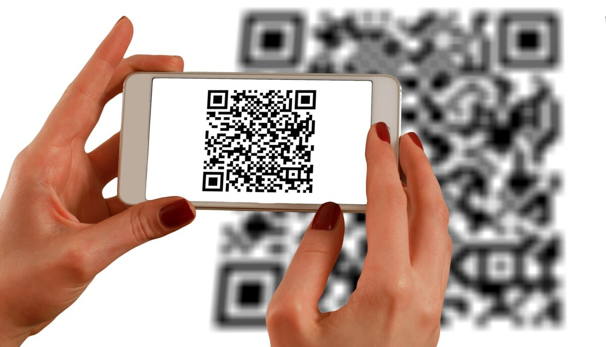 Scanner un QR code avec un smartphone